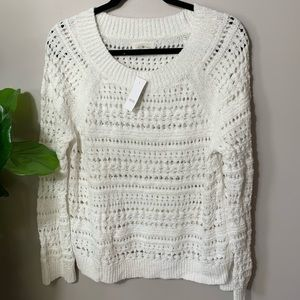 NEW Lou & Grey White Sweater Nordstrom